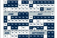 2017 Mariners Schedule
