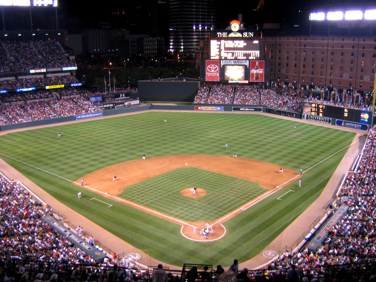#2 – Oriole Park at Camden Yards – 13 games attended