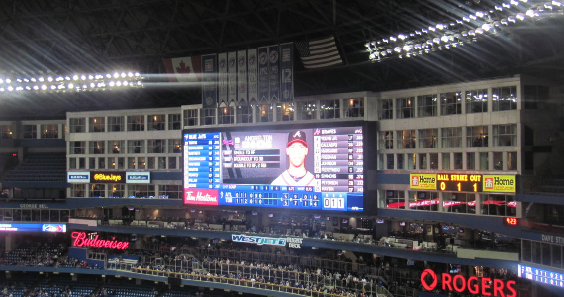Canadians Like Baseball Too! by Fred Thompson